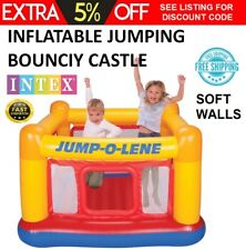 Kids Inflatable Bouncer Castle Playhouse Jumping Bouncy Game Indoor Outdoor NEW