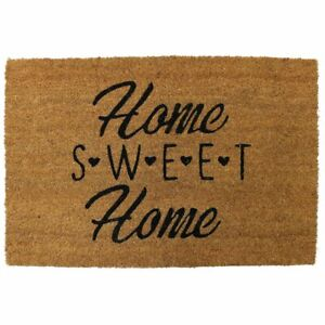 Pride of Place 40 x 60cm Astley PVC Backed Coir Doormat - Home Sweet Home