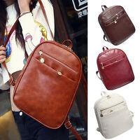 Women's Backpack Satchel Travel Leather Handbag Rucksack Shoulder School Bag LOT
