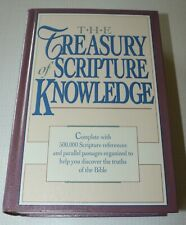 The Treasury of Scripture Knowledge by hendrickson excellent ak