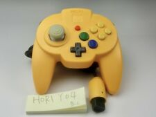 Nintendo 64 Hori Pad Mini Controller Yellow N64 Tested & Working Japan Y04
