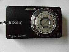 Sony Cyber-shot DSC-W350 Digital Camera - BLACK - Works OK but MISSING BATTERY