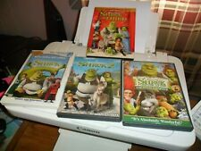 Shrek Movie Collection 4 DVD'S INCLUDING THE FINAL CHAPER GUC GOOD TO GO