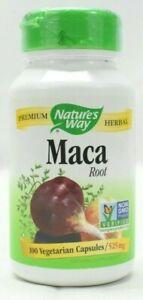 Nature's Way Maca Root, 525 mg, 100 Vegetarian Capsules