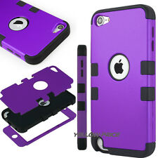 Heavy Duty Hybrid High Impact Hard Case Triple Layer Coverfor iPod Touch 5th 6th