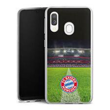 Samsung Galaxy A40 Silikon Hülle Case - Stadionrasen FC Bayern München FCB