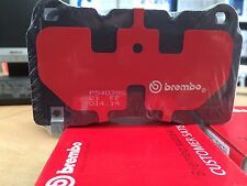 BREMBO GENUINE FRONT BRAKE PADS suit VE,VF REDLINE COMMODORE BREMBO CALIPERS