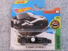 Hot Wheels 2017 # 141/365 2015 JAGUAR F-TYPE PROJECT 7 Black HW Sala de