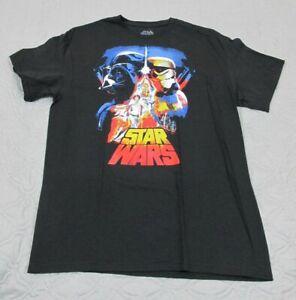Star Wars T-Shirt Noir - The Hope - Fifth Sun STRW9146