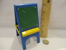 Toy Little Tikes Dollhouse Doll accessories part toy easel chalkboard white art