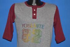 vintage 80s Yosemite National Park 1982 Rayon Tri Blend Jersey t-shirt Medium M