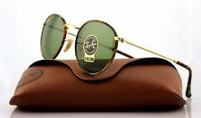 Genuine RAY-BAN Round Camouflage Gold Green Classic Sunglasses RB 3447 JM 168/4E