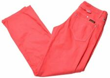 G-STAR Womens Jeans W29 L31 Red Cotton Straight  FL07