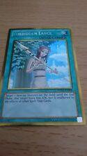 Forbidden Lance PGLD EN048 Platinum Rare Limited Edition Yugioh