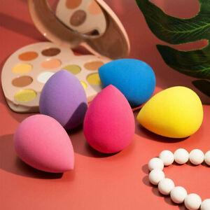 5Pcs Beauty Foundation blending Makeup Sponge blender Flawless Buffer Puff Set