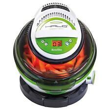 Breville VDF105 1.25kg 1400W Halo & Health Fryer with Timer in White & Green