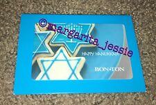 "BON-TON GIFT CARD ""HAPPY HANUKKAH"" NO VALUE COLLECTIBLE RARE BONTON STORE CLOSED"
