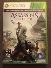 XBOX 360 Assassin's Creed III 3 Special 2 disc Edition Complete