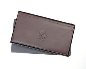 Shotgun & Firearm Gun Certificate Wallet  Licence Holder in Premium Leather Gift