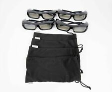 Lot of 3 Sony TDG-BR250 3D Active Rechargable Glasses