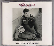 Carter USM - Born On The 5th Of November - CD (CDUSM13 4 x Track U.K.)