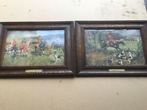 Lionel Edwards Pair Of Hunting Prints
