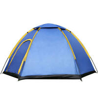 Tent 3-4 People Outdoor Camping Tent Instant Pop-up Waterproof Large Family