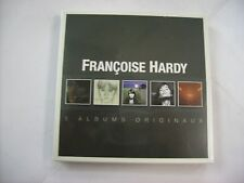 FRANCOISE HARDY - 5 ALBUMS ORIGINAUX - 5CD BOXSET NEW SEALED 2014