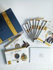 Harry Potter 10 Euros & 50 argent Monnaie De Paris Certificat Rare coffret