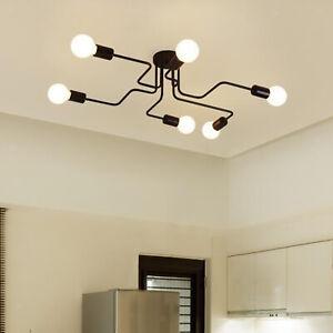 Nordic Ceiling Lamp E27 Socket Chandelier Lighting Home Bedroom Decor Arts