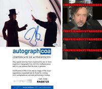 "TIM BURTON signed ""CHARLIE & CHOCOLATE FACTORY"" 8X10 Photo PROOF - Director ACOA"