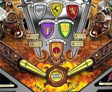 Swords - Pinball Machine Flipper Bat Topper MOD for GoT, MM, and LOTR pinball