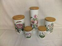 c4 Pottery Portmeirion The Botanic Garden Storage jars & lids various sizes 5B1A