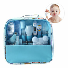 13PCS Baby Newborn Health Care Set Nail Hair Brush Thermometer Kid Grooming Kit