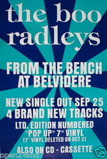 """BOO RADLEYS """"FROM THE BENCH AT BELVIDERE"""" U.K. PROMO POSTER"""