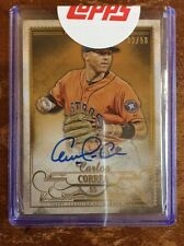 Carlos CORREA• /50 On-Card Topps-Sealed Auto! 2016 Five Star Gold Autograph!