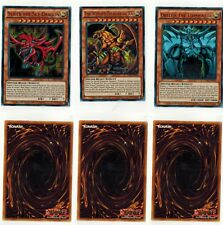 Egyptian God Cards Legal** Slifer Obelisk Ra LDK2 Ultra Set Limited Edition