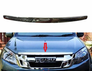 ISUZU ALL NEW DMAX DMAX 2WD 4WD PICKUP 12-13-2015 FRONT CHROME UPPER LINE GRILLE