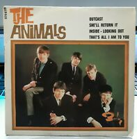 """EP 45T The Animals   """"Inside, looking out - Outcast"""" - (VG+/ EX) - OR.FR 1966"""