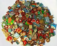 LOT of 30 pcs USSR SOVIET ERA VINTAGE ENAMEL PINS BADGES COLD WAR COMMUNISM CCCP
