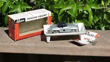 SCHUCO 1044 MICRO RACER MERCEDES 190SL, GRAY BLACK WEST GERMANY w/ Box