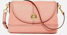NWT Marc Jacobs New York Turnlock Leather Messenger Crossbody Shoulder Bag Blush
