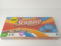 HASBRO SCRABBLE BOARD GAME WITH TEAM PLAY & POWER TILES NEW SEALED 2012
