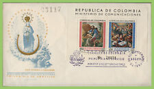 Columbia 1960 St Isidoro mini sheet on First Day Cover