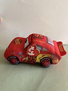 "Thai beanie babies Disney cars 3 hero lightning McQueen plush 7.5"" NWT toy"