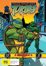 Teenage Mutant Ninja Turtles Season 4 Box 1  Vol 1-3 (DVD, 2007, 3-Disc Set)Reg4