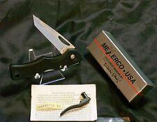 Meyerco Fiberesin Lockback 440-Ss Blackie Collins Exclusive Design W/Packaging
