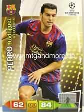 Adrenalyn XL Champions League 11/12 - Pedro Rodriguez