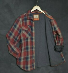 Legendary Whitetails MEN'S JACKET L HUNTING FLANNEL SHIRT ARCHER THERMAL LINED
