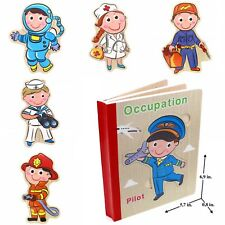 Educational Book Toy for Toddlers Baby Kids Children . Occupation book